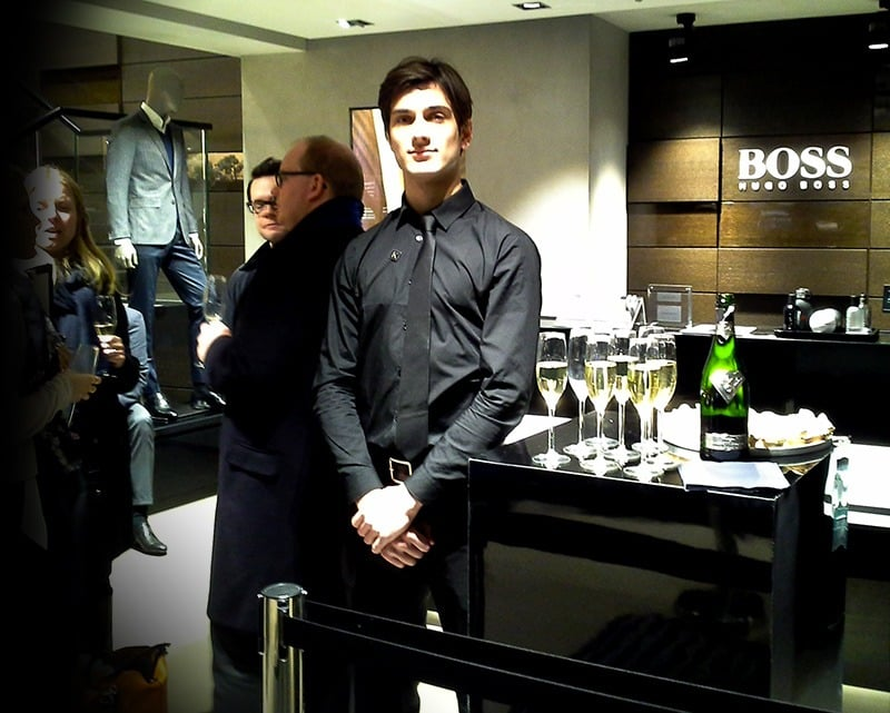 Hugo BOSS Christmas Store Activity