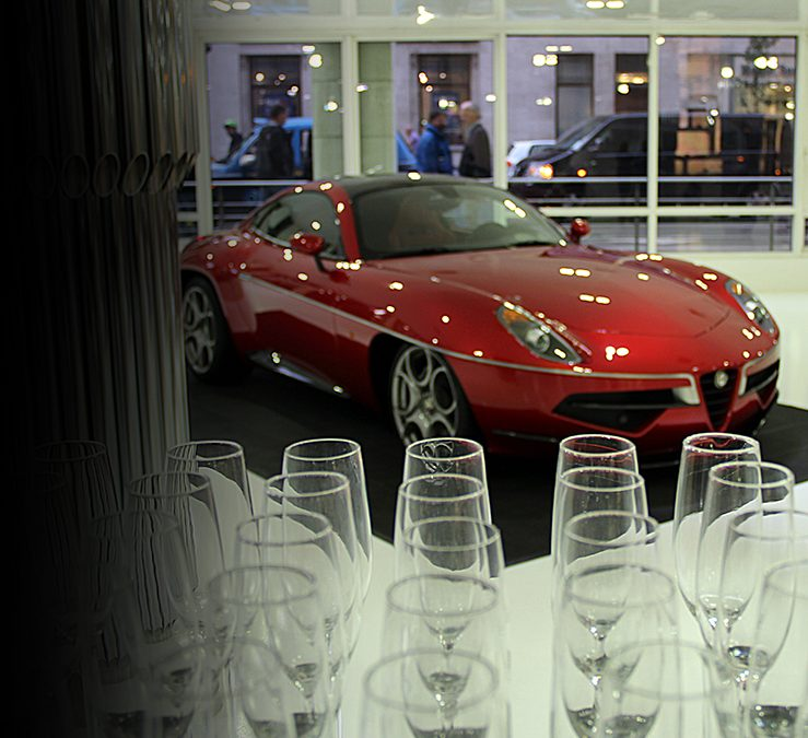 Alfa Romeo, Disco Volante Launch