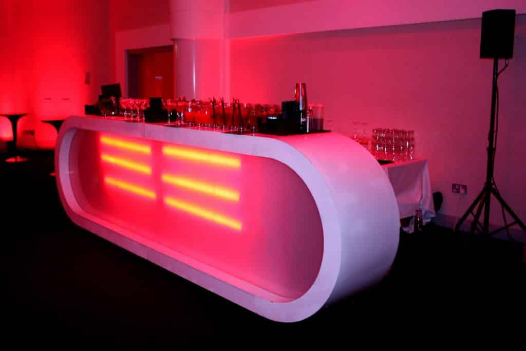 The bar we used for the Audi graduation in June 2013