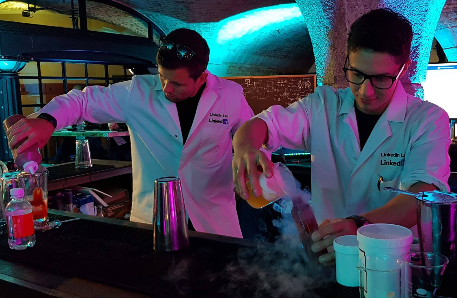 Cocktail Brand Activation using Molecular cocktails