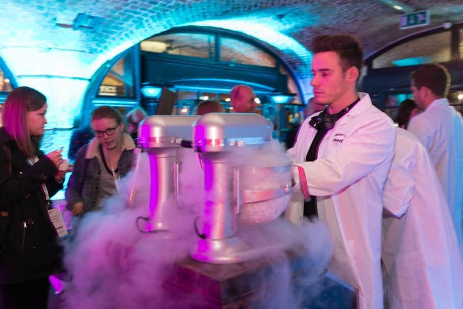 Cocktail Bar Hire using Molecular cocktails
