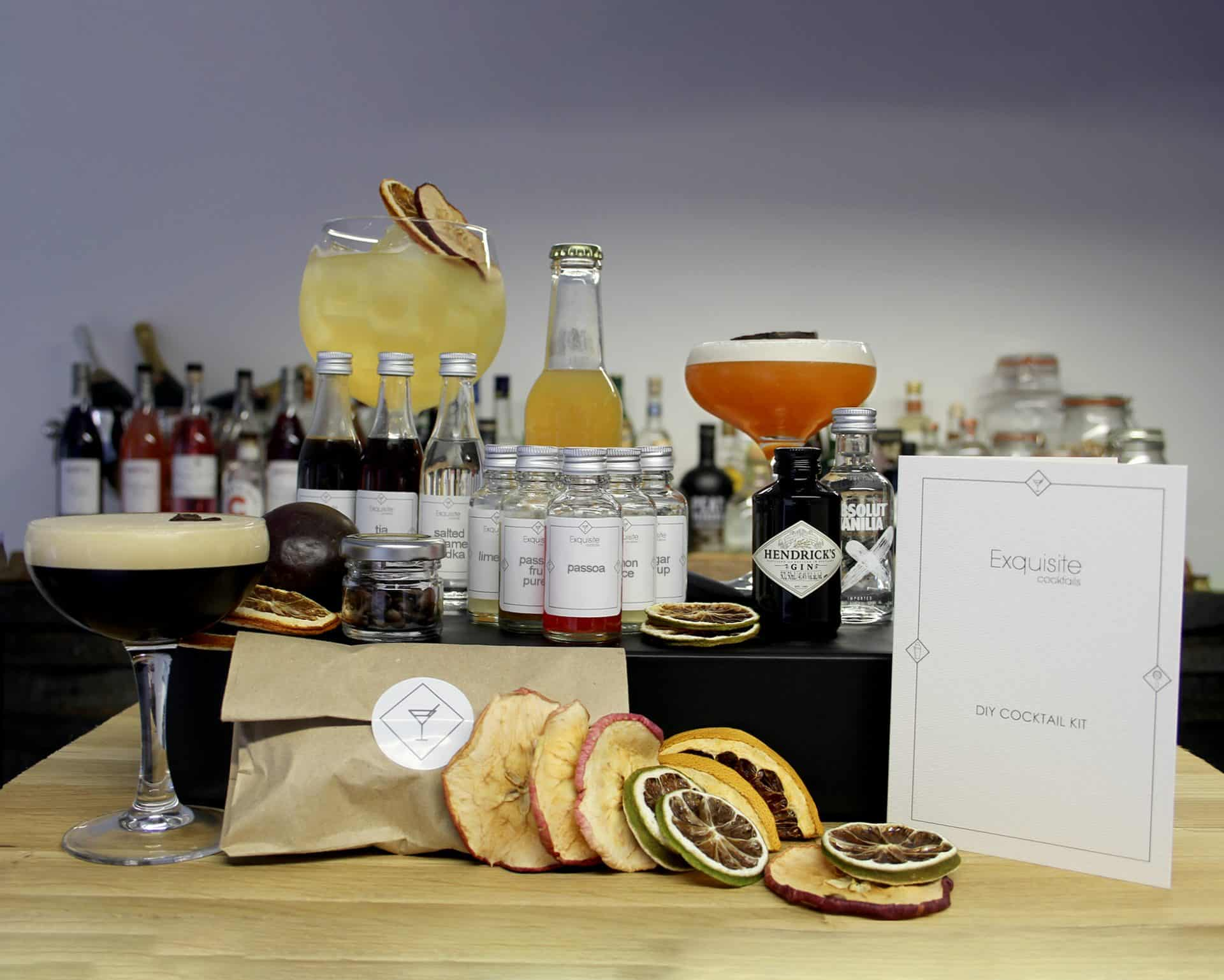 Cocktail 'Favourites' Ingredient Box for virtual events and corporate gifting