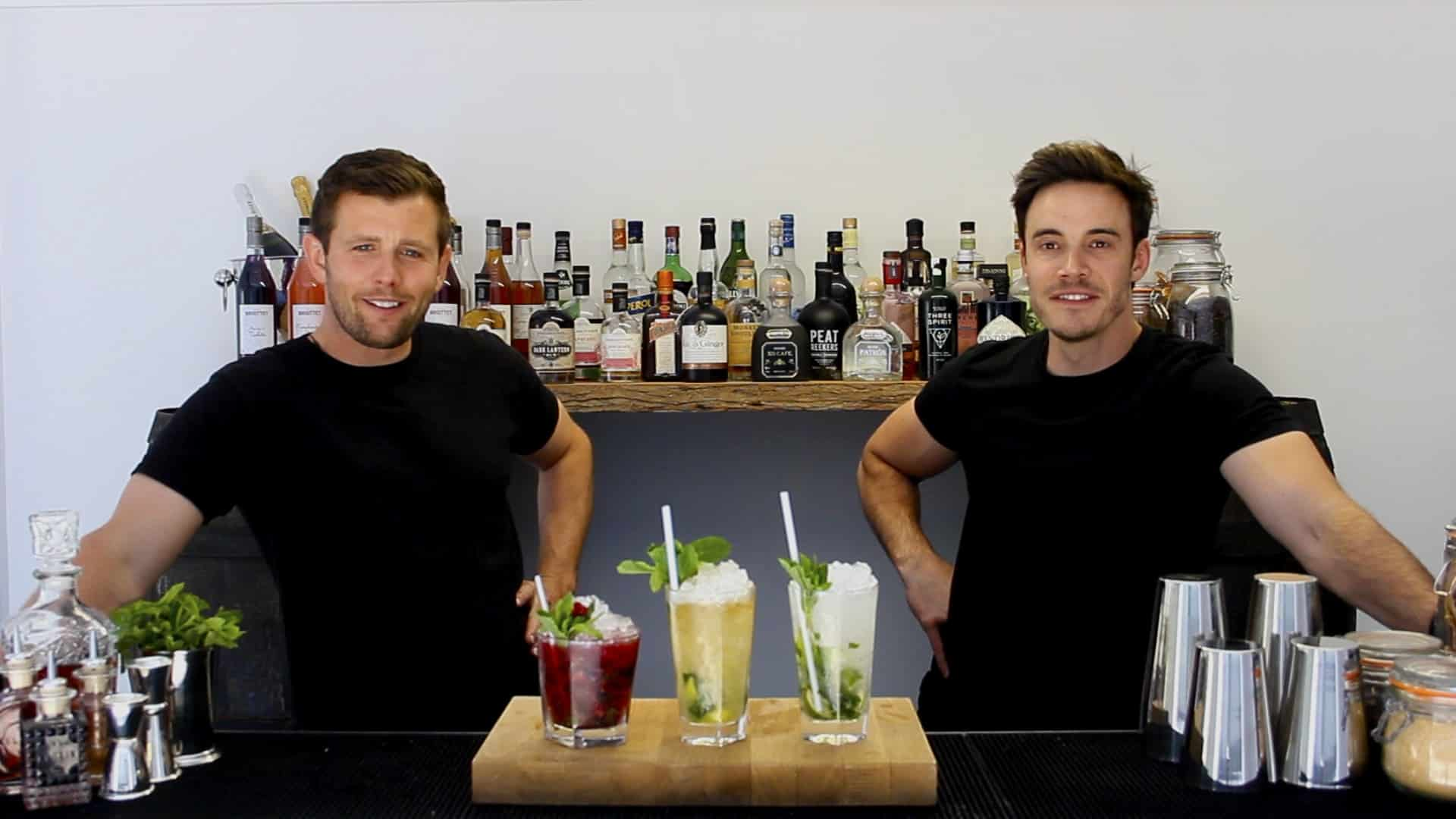 Exquisite Cocktails Ready for a virtual event