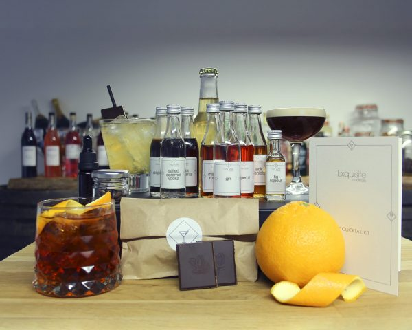 Cocktail 'Kickers' Ingredient Box for virtual events and corporate gifting