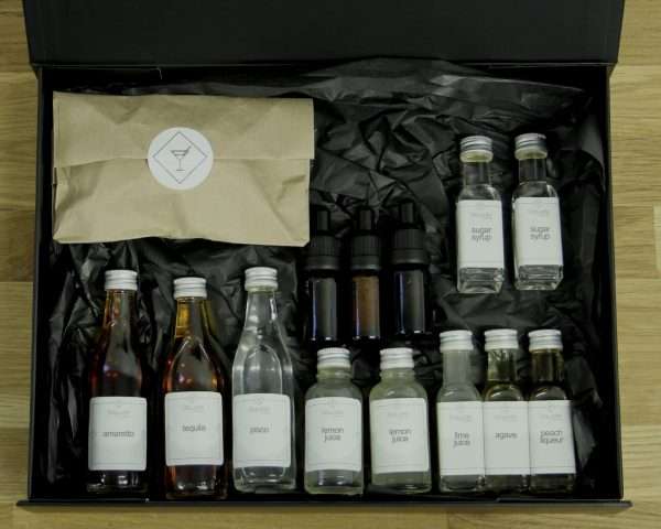 Cocktail 'Sours' Ingredient Box for virtual events and corporate gifting